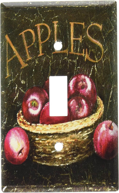 Art Plates - Dark Apples Switch Plate - Single Toggle