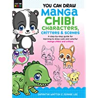 Manga Chibi Characters, Critters & Scene (You Can Draw Just for Kids!): A step-by-step guide: 3