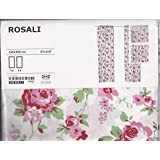 shabby blau rosa rose blumen chic stiftfalten. Black Bedroom Furniture Sets. Home Design Ideas