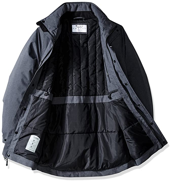 6c9c78b9b723 Champion Men s Removable Hood Synthetic Down Parka at Amazon Men s Clothing  store
