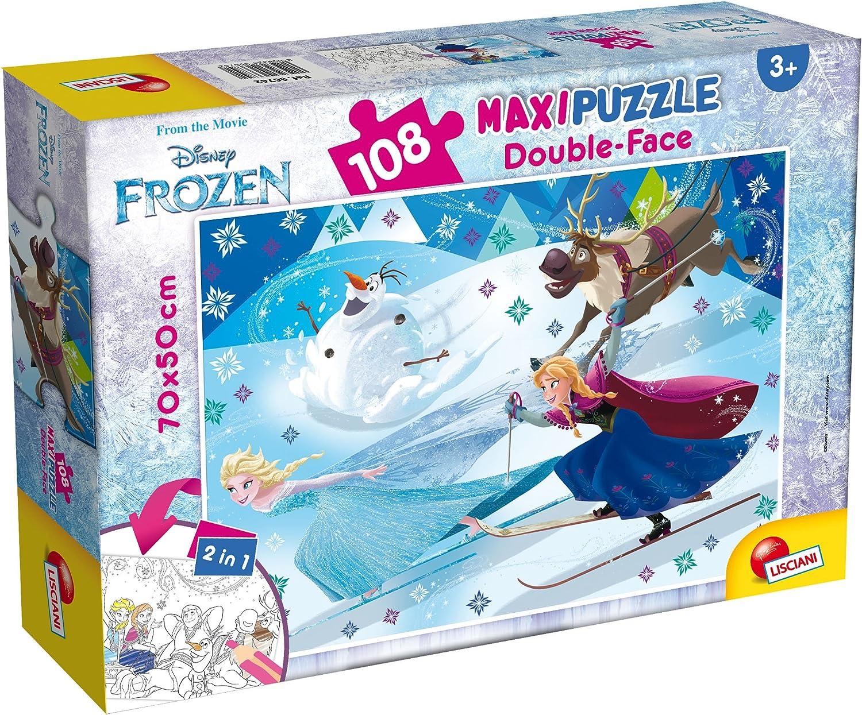 Lisciani Giochi 66742.0/ /Frozen Puzzle DF Supermaxi 108