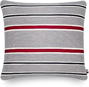 Tommy Hilfiger Applique Stripe Decorative Pillow, 20x20 inch, Multi