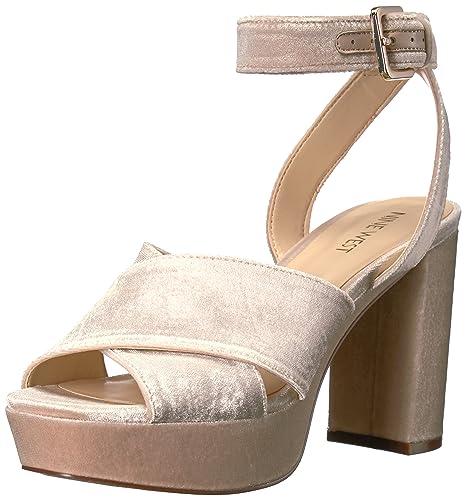 Nine West Women's Mcnomee Fabric Heeled Sandal
