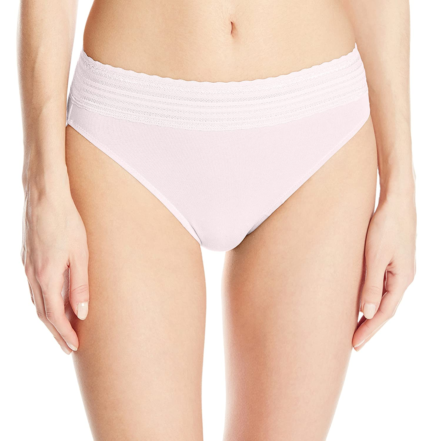 615234a99a9 Warner's No Pinching No Problem Cotton Lace Hi-Cut Panty at Amazon Women's  Clothing store: