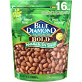Blue Diamond Almonds Wasabi & Soy Sauce Flavored Snack Nuts, 16 Oz Resealable Bag (Pack of 1)