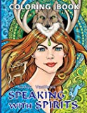 Speaking with spirits: Coloring Book for Adult