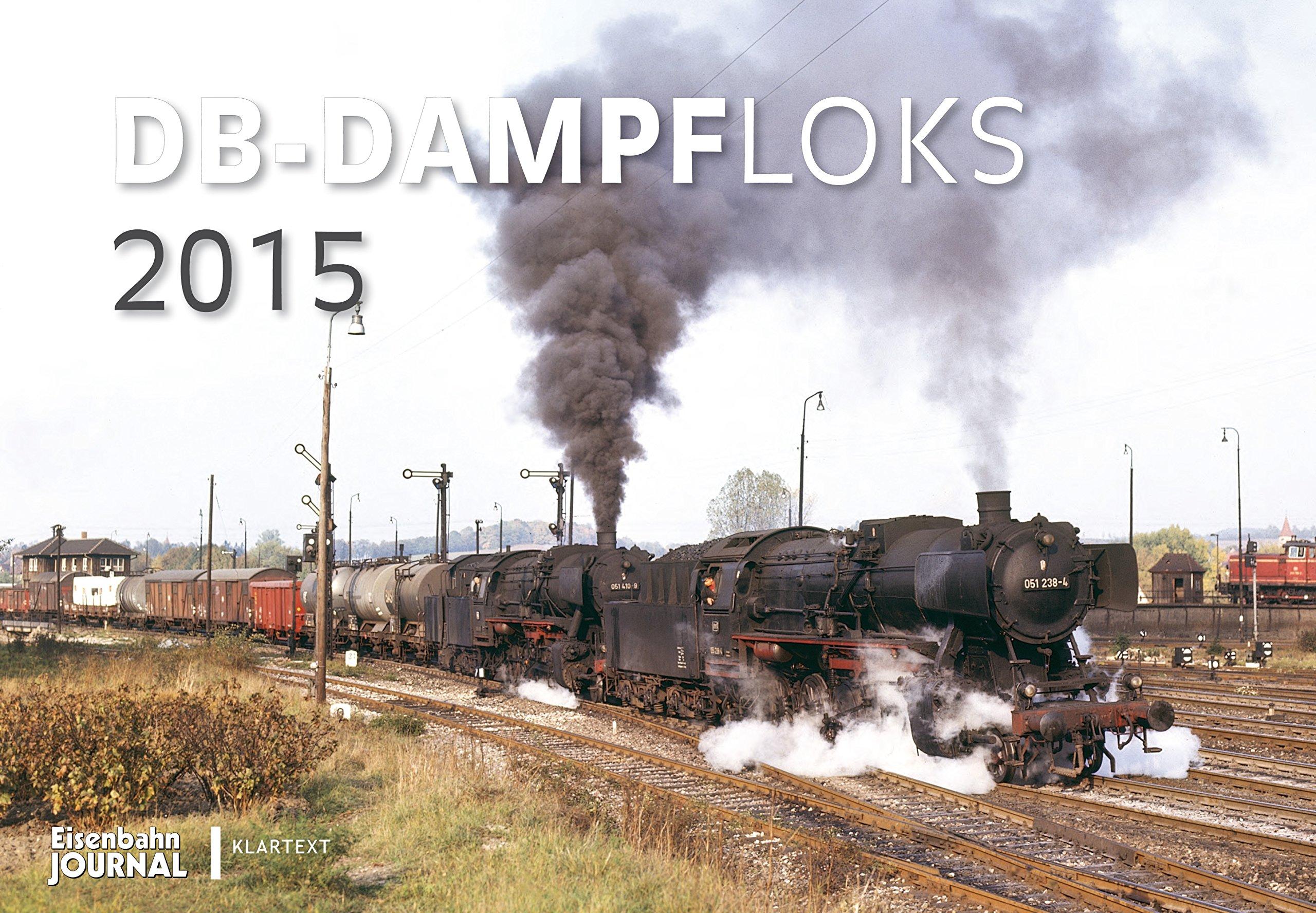 Kalender DB-Dampfloks 2015