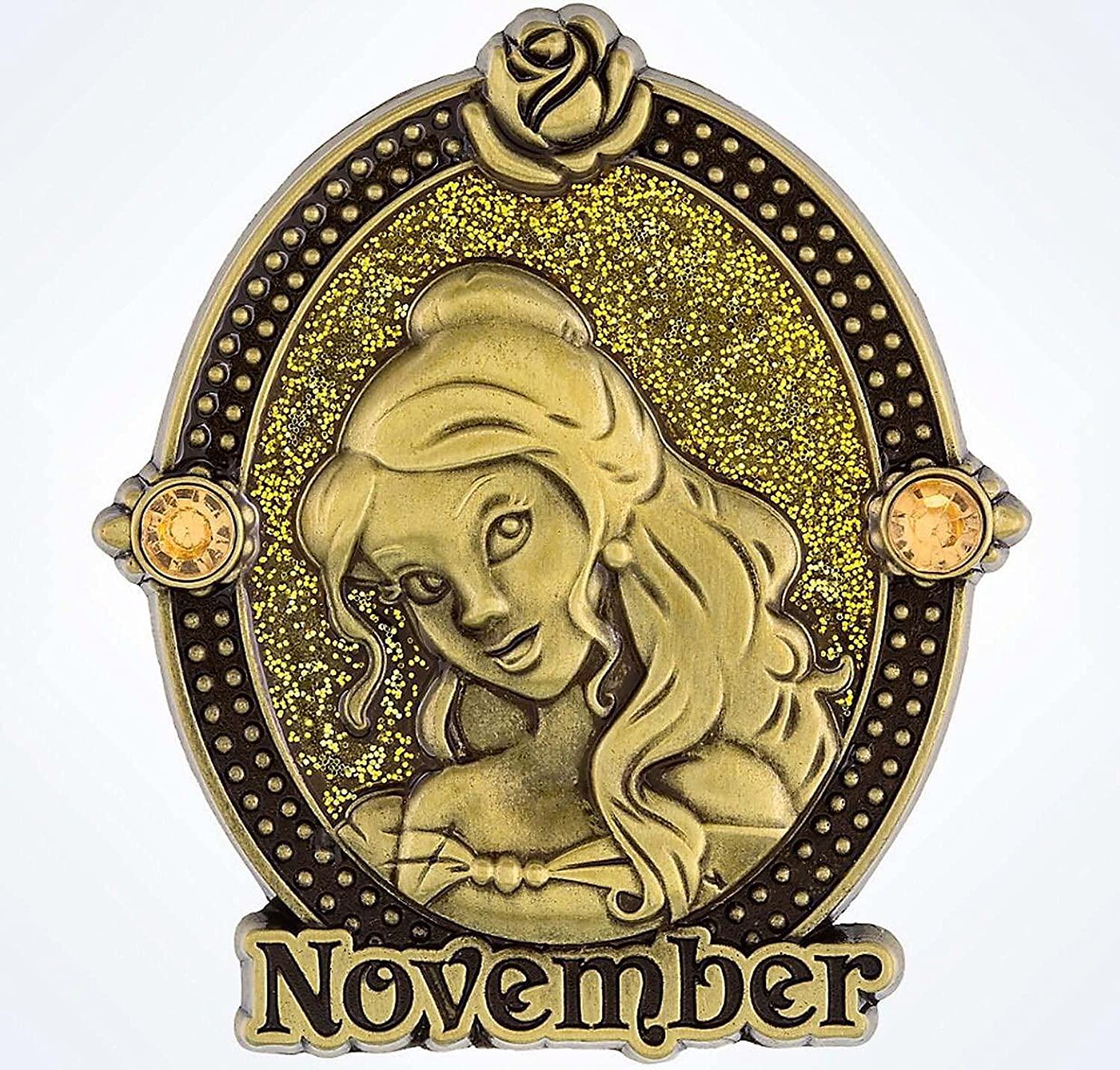 Disney Pin - Birthstone - November 2016 - Belle