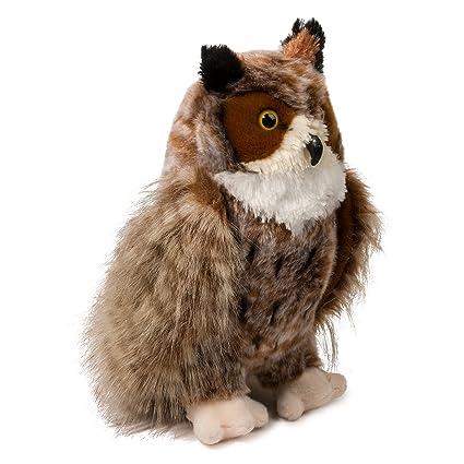 Amazon Com Douglas Einstein Great Horned Owl Plush Stuffed Animal