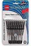 Cello Technotip Ball Pen Set - Pack of 10 (Black)