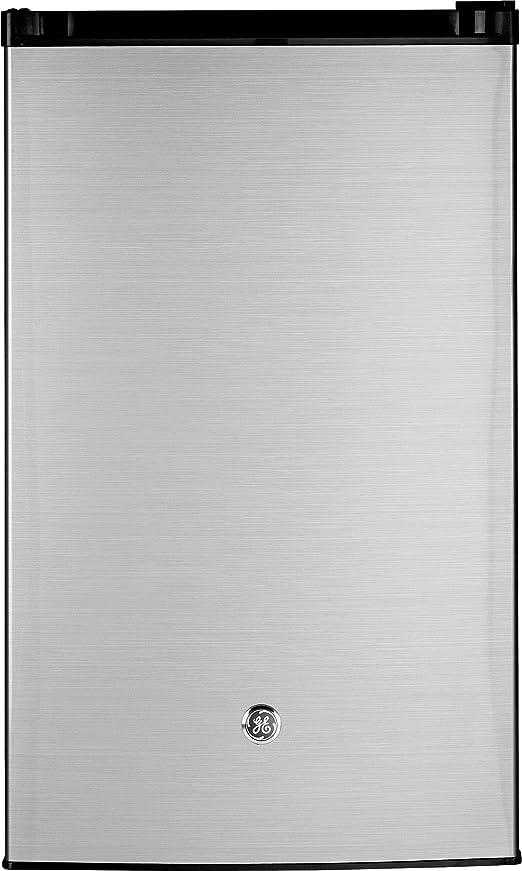 Amazon.com: GE GME04GLKLB CleanSteel Compact Refrigerator, 4.4 Cu Ft, Clean  Steel: Appliances   Ge Mini Fridge Wiring Schematic      Amazon.com