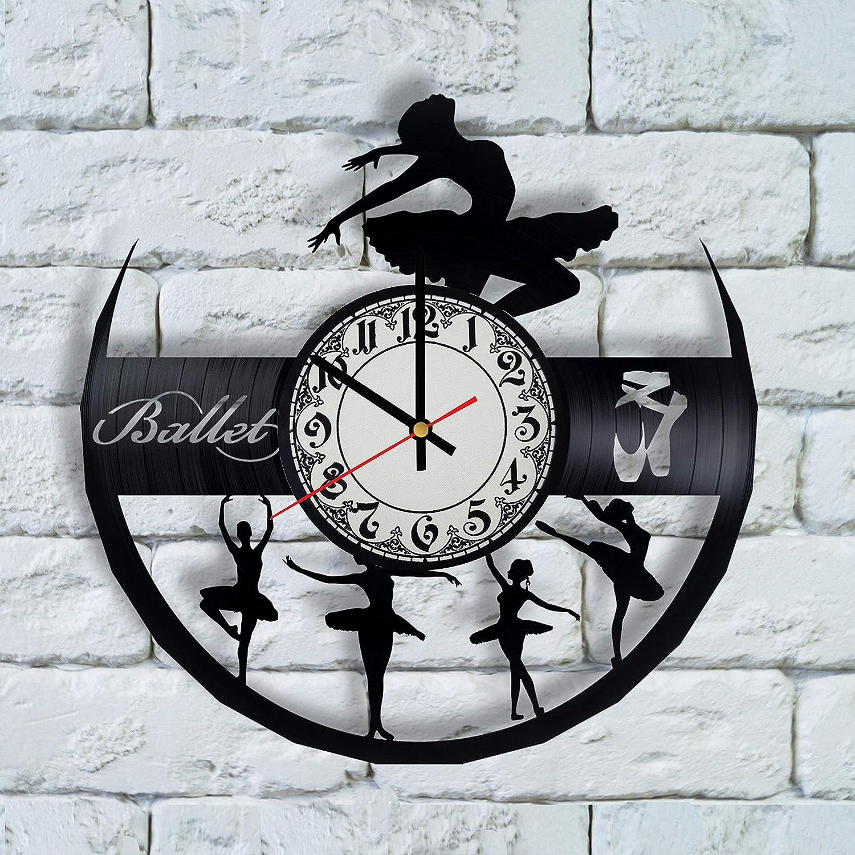 Amazon Com Ballerina Art Print Clock Ballerina Wall Art