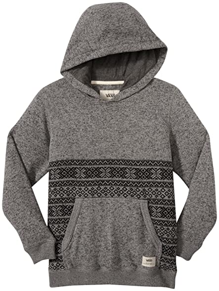 vans hoodie kids white
