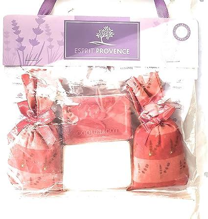 ESPRIT Provence - 2 bolsas de lavanda, 2 jabones de Marsella ...