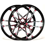26 Mtb Bike 5 Spoke Mag Magnesium Wheels Set Rim