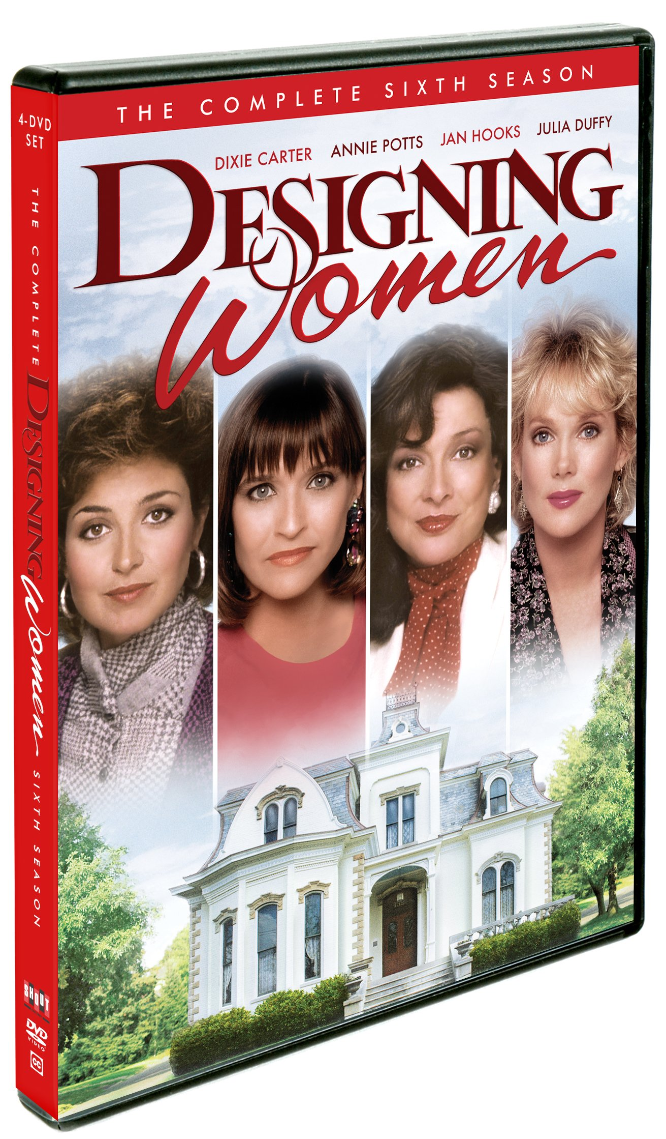 DVD : Designing Women: The Complete Sixth Season (Full Frame, Dolby, 4PC)