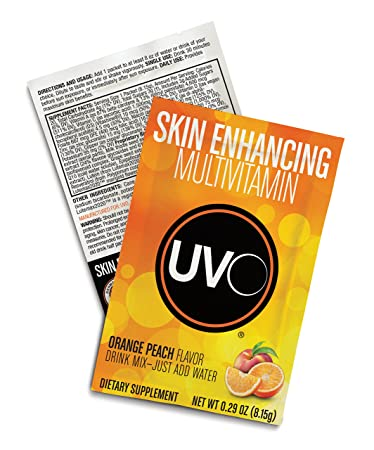 UVO - The Only Drinkable Anti-Aging Skin-Enhancing Multivitamin Drink Mix -  4X More Polypodium