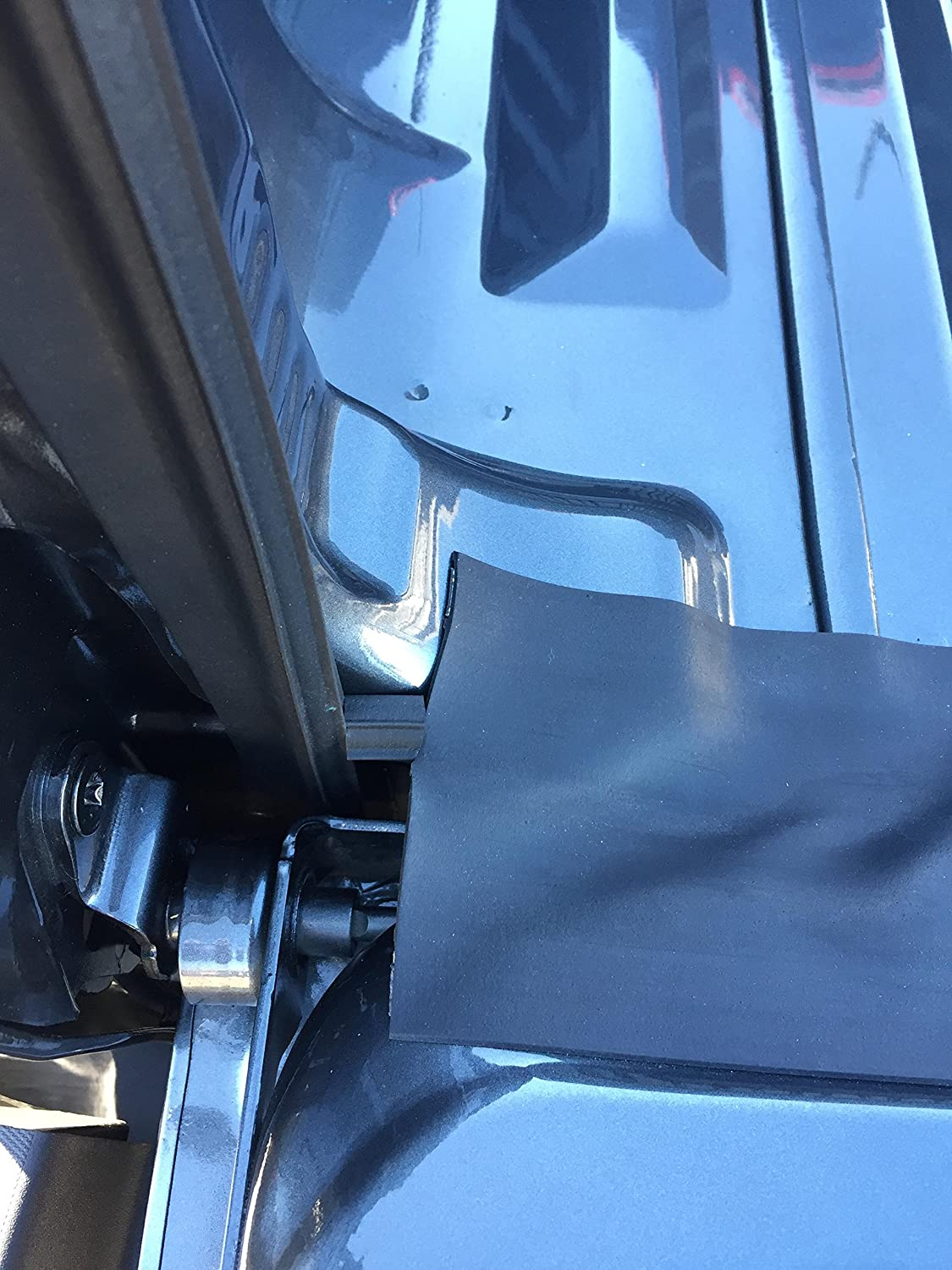 ESI ROK BLOCK 4.25 Tailgate Gap Cover and Ultimate Tailgate Seal with Taper Seal 5 1//2 for Sidewalls