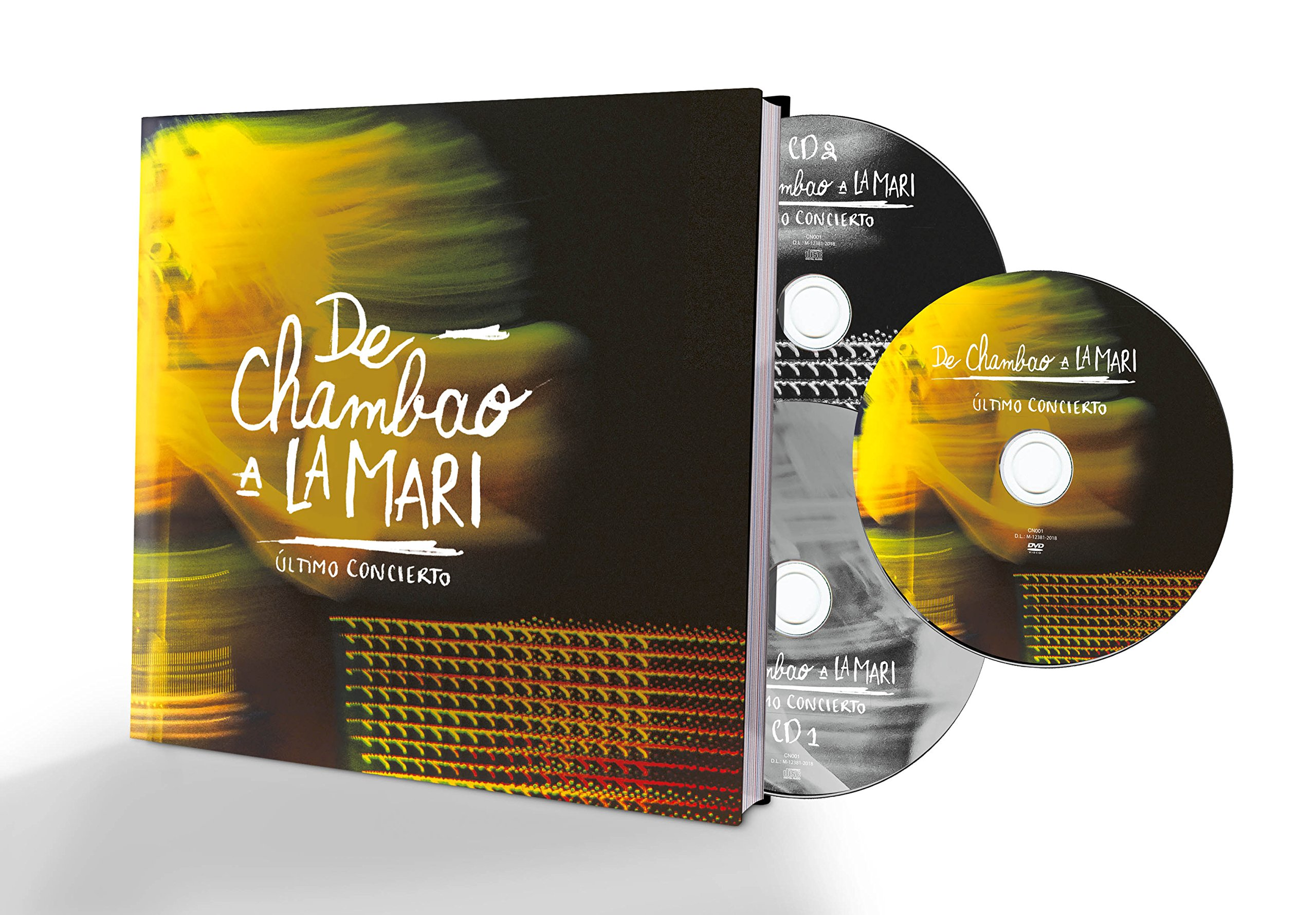 CD : Chambao - De Chambao A La Mari (With DVD)