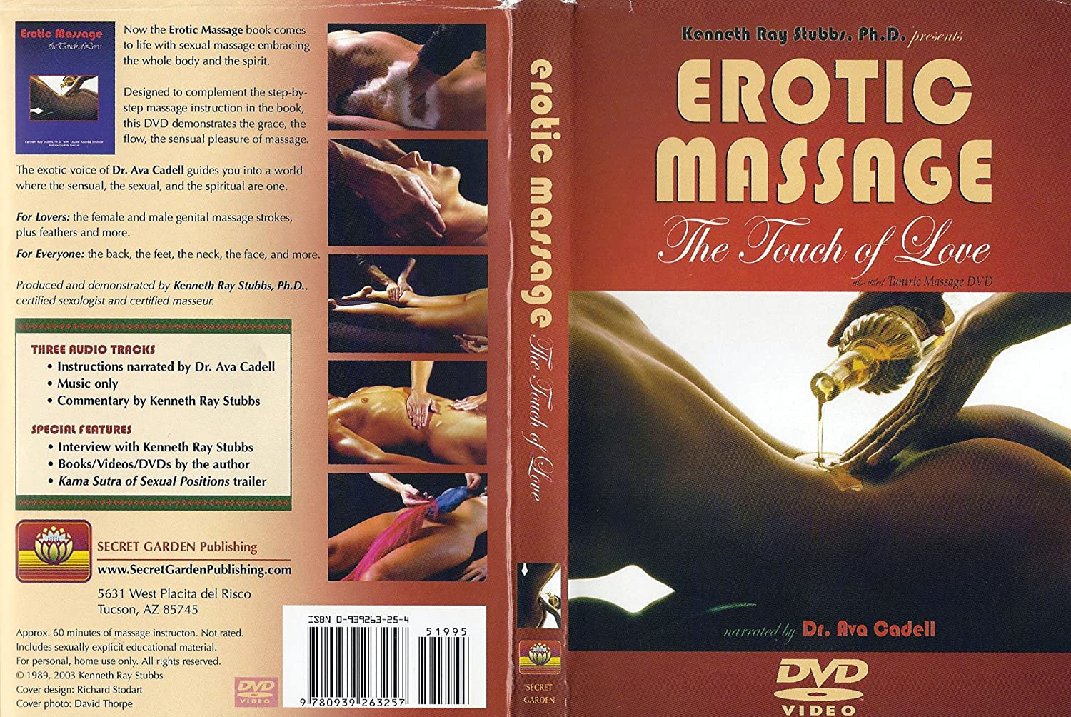 Amazon Com Erotic Massage The Touch Of Love Kenneth Ray Stubbs Movies Tv