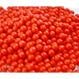 水を付けるとつながる魔法のビーズ マジカルボール セレクトカラー 補充パック 赤 ビーズ 600個入り (赤)