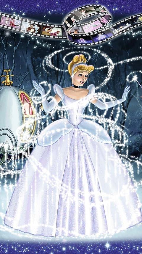 ディズニー Cinderella XFVGA(480×854)壁紙画像