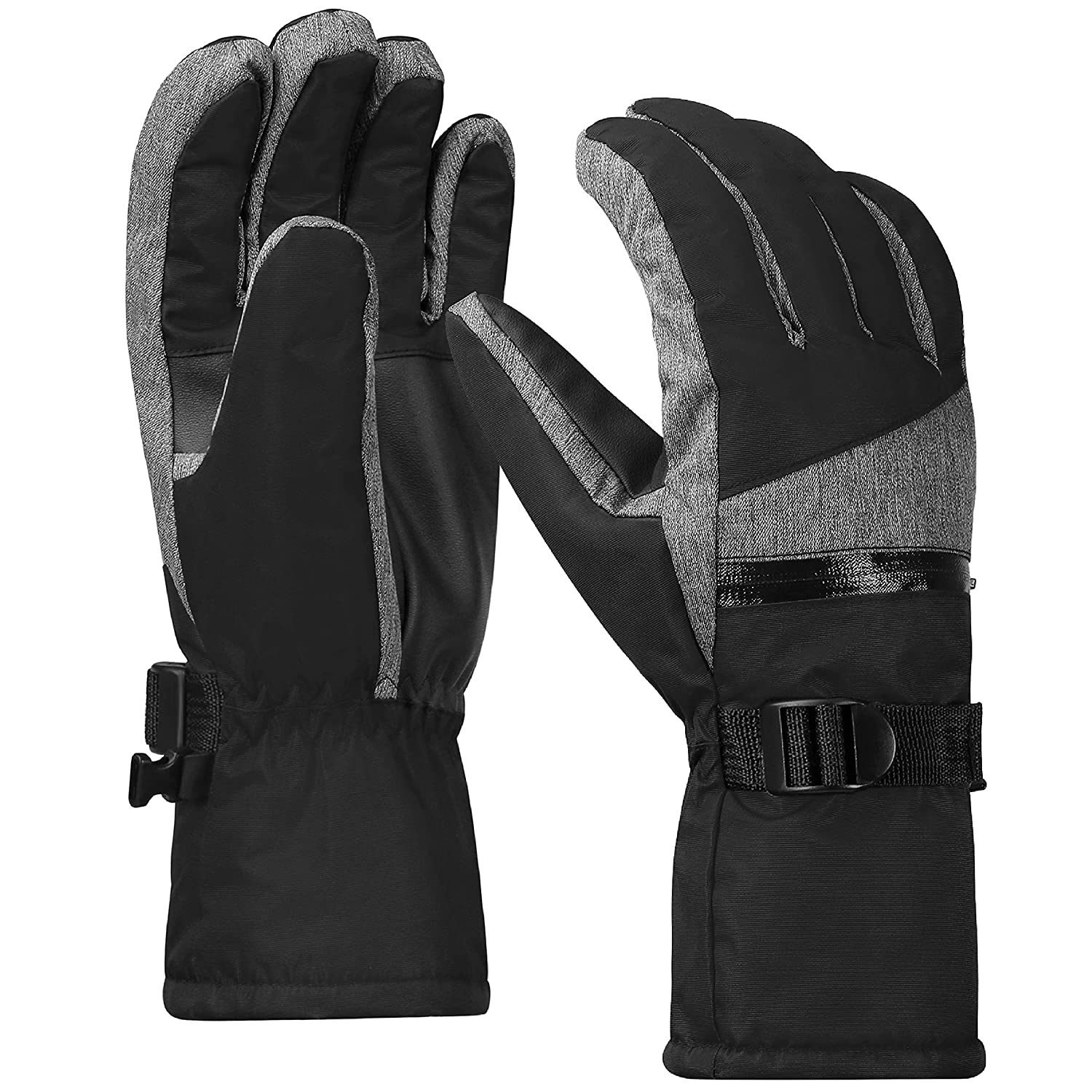 Terra Hiker Waterproof Microfiber Winter Ski Gloves 3M Thinsulate Insulation for Men TH0123
