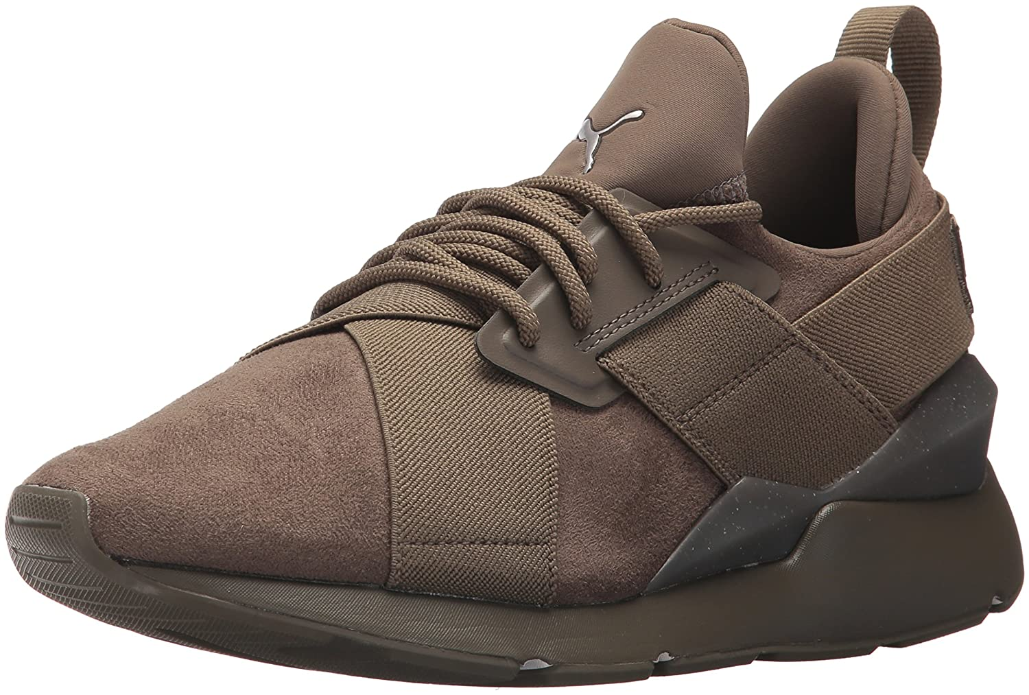 PUMA Women's Muse Elevated Wn Sneaker B071GMBKCR 5.5 B(M) US|Bungee Cord-bungee Cord