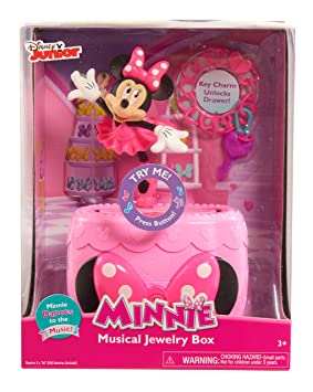 Just Play Girls Minnie Happy Helpers Musical Jewelry Box Kitchen