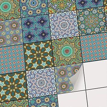 Fliesen Mosaik Klebe Folie Aufkleber Zum Fliesen Uberkleben Deko