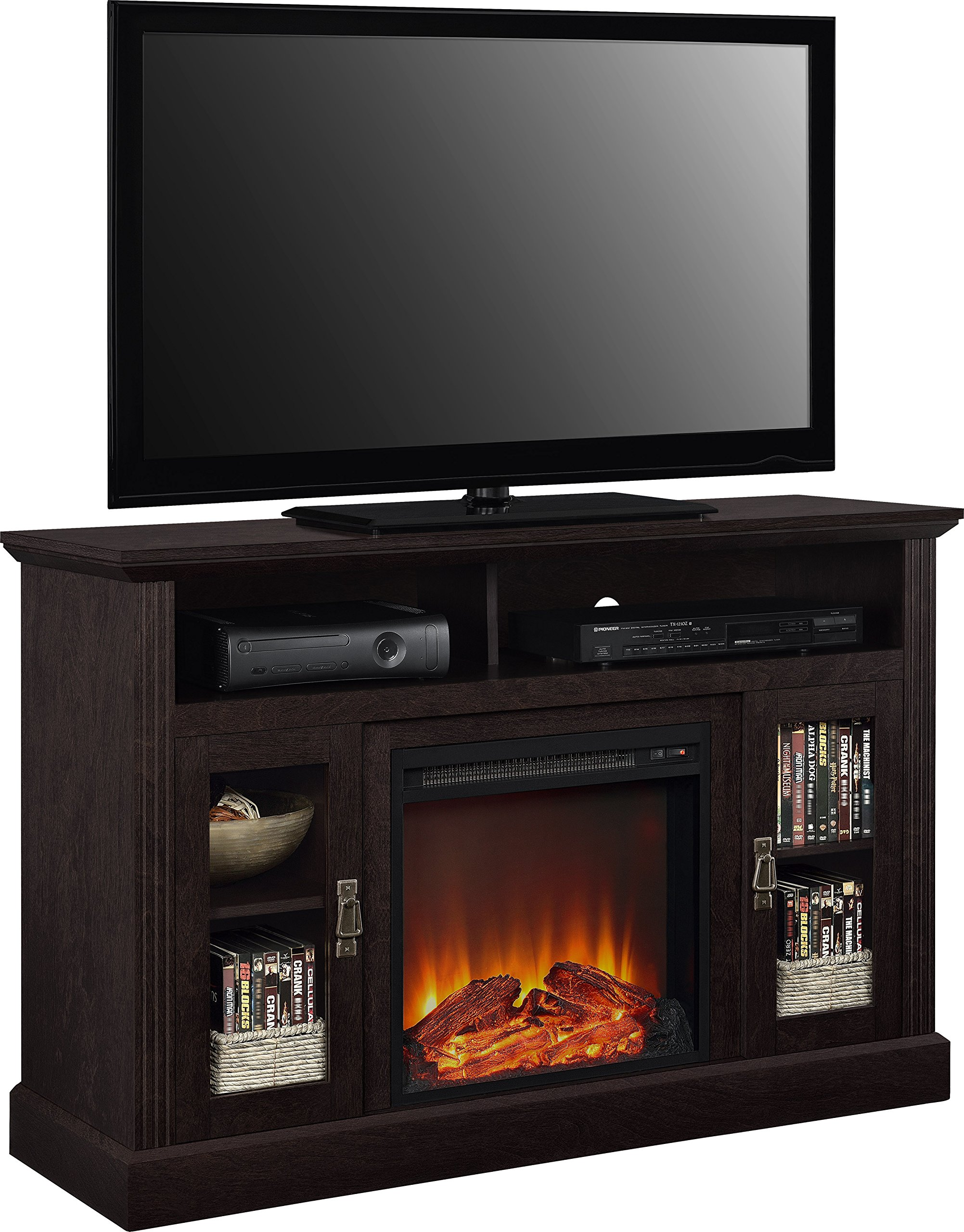 Ameriwood Home Chicago Electric Fireplace TV Console for TVs up to a 50'', Espresso by Ameriwood Home (Image #6)