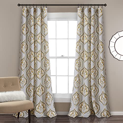 Lush D cor Harley Room Darkening Window Curtain Panel Pair