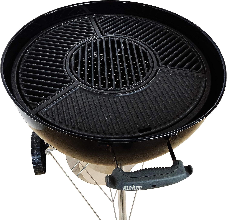 JX Ensemble Complet de grilles de Barbecue en Fonte pour
