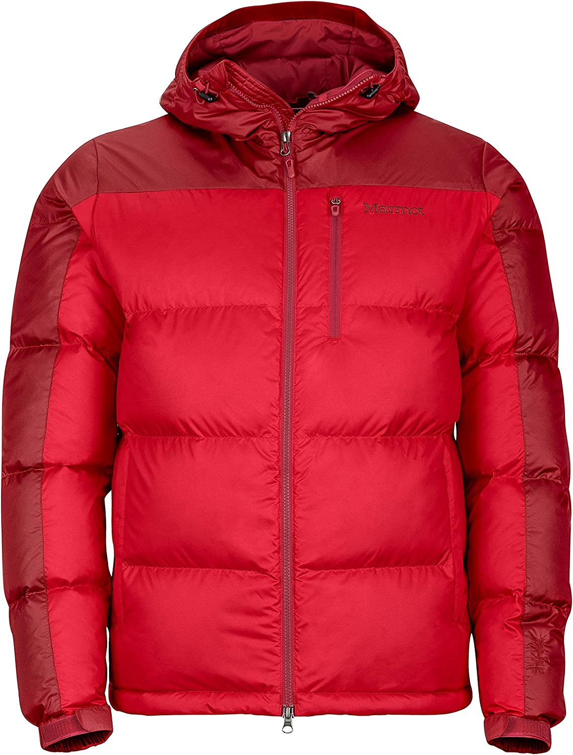 Details about  /New Marmot Titus Gore-Tex Red Hooded Waterproof Rain Jacket Mens XL