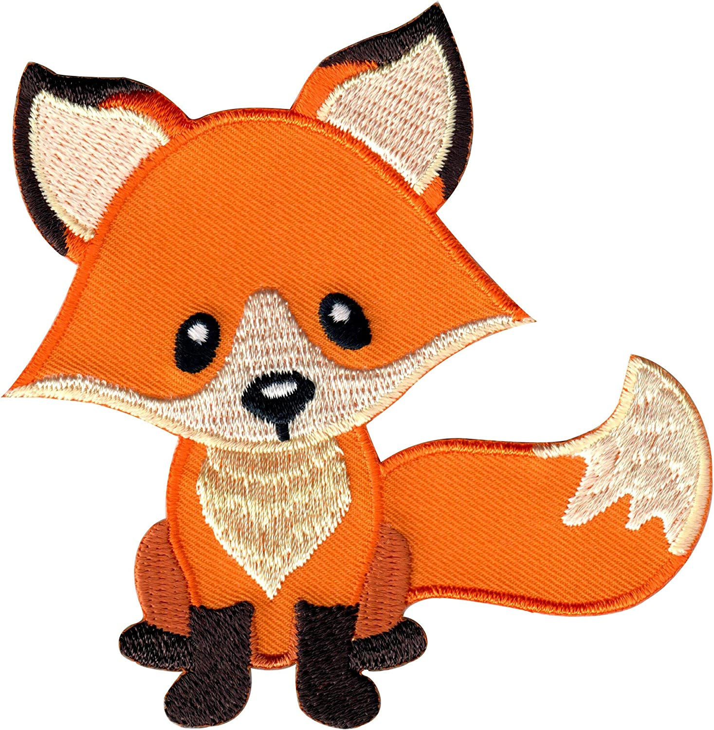 Patch patch embroidery fox thermostick
