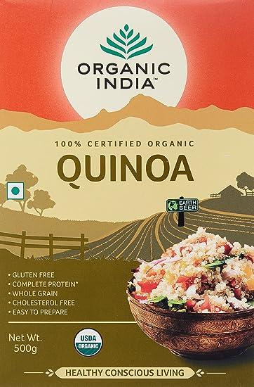Organic india quinoa nutritious food 500g amazon health organic india quinoa nutritious food 500g forumfinder Images