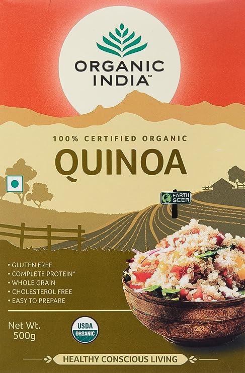 Buy organic india quinoa nutritious food 500 g online at low organic india quinoa nutritious food 500 g forumfinder Choice Image