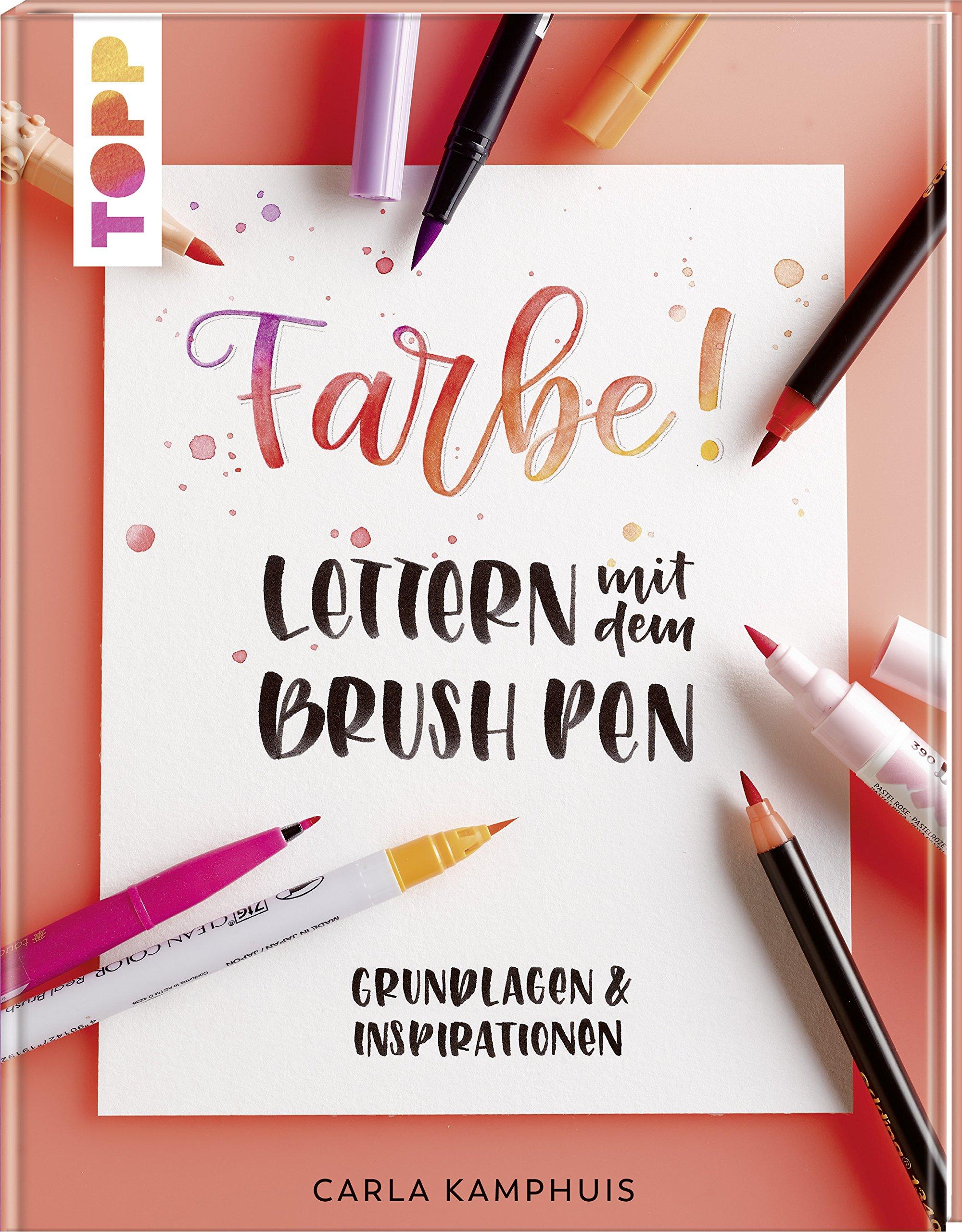 Farbe! Lettern mit dem Brush Pen: Grundlagen & Inspirationen