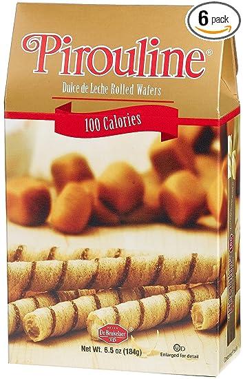 Pirouline Dulce De Leche Cream Filled Wafer Rolls, 100 Calorie Pack (2-Count