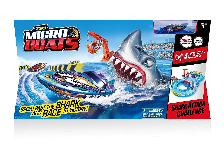 Zuru Shark Attack Micro Boats Track Set