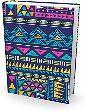 Easy Apply Reusable Book Covers 6 Pk Boys Perfect Fun Best Jumbo 9x11 Textbook Jackets for Back to School Stretchable to Fit Most Large Hardcover Books Washable Designs for Girls Kids and Teens