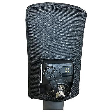 Estuche de cubierta de suciedad para caja de control Minelab Equinox 600 800 (negro)
