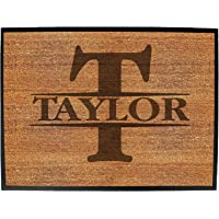Door Mat - Initial-Taylor - Funny Doormat for House & Office