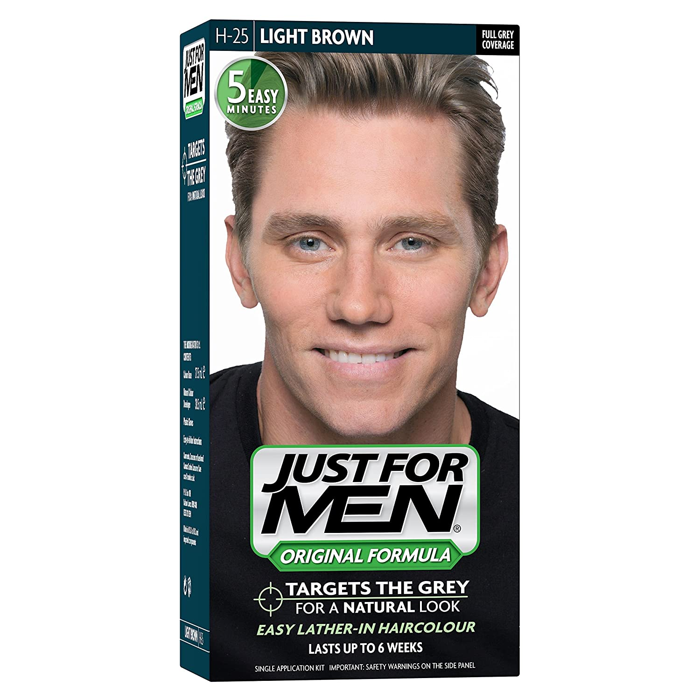 Just For Men H25 Light Brown Hair Color 60 Ml