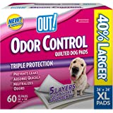OUT! 60 Count Odor Control X-Large Dog Pads