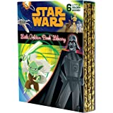 The Star Wars Little Golden Book Library (Star Wars): The Phantom Menace; Attack of the Clones; Revenge of the Sith; A New Ho