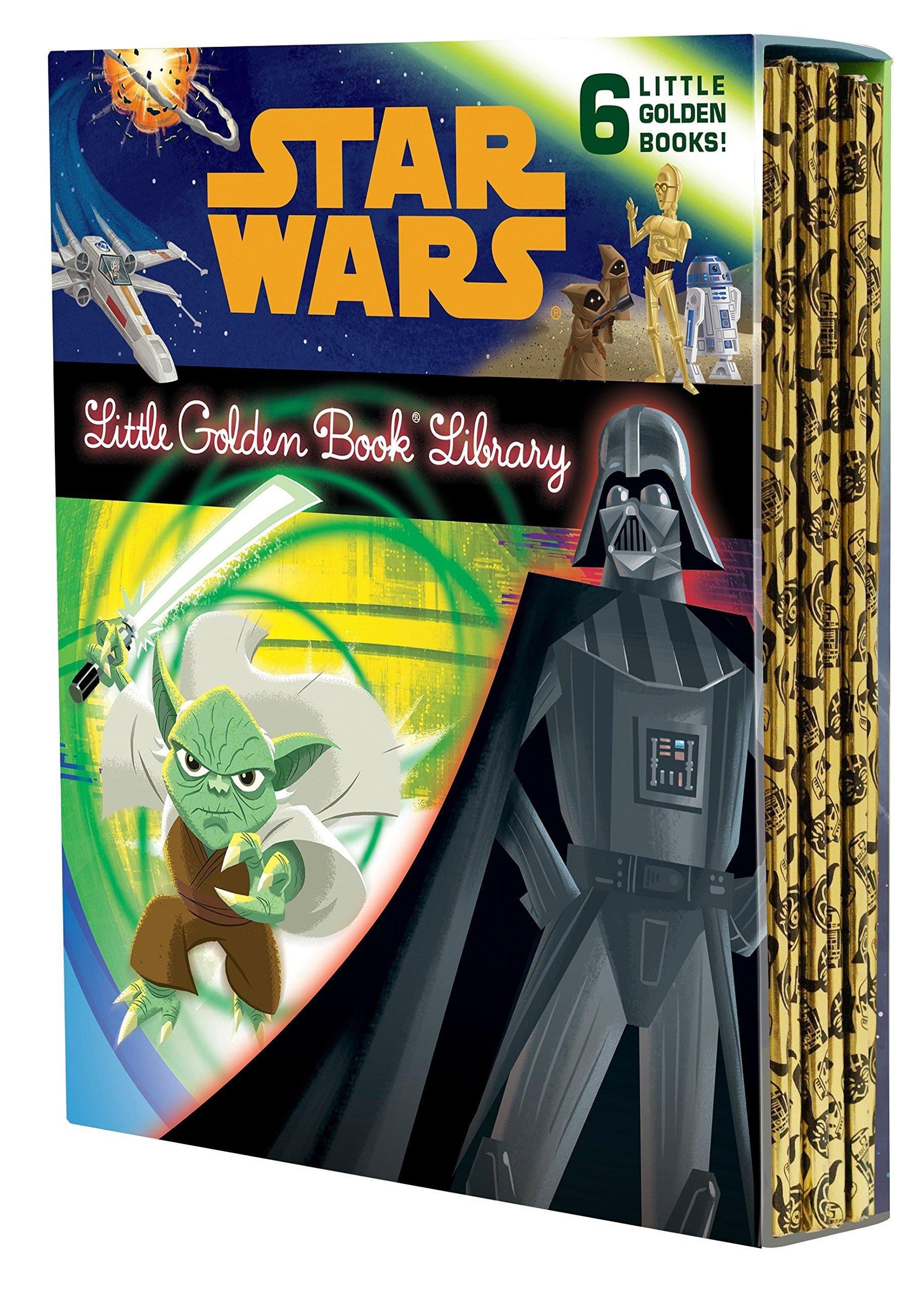 The Star Wars Little Golden Book Library (Star Wars): Various, Golden Books:  9780736434706: Books - Amazon.ca