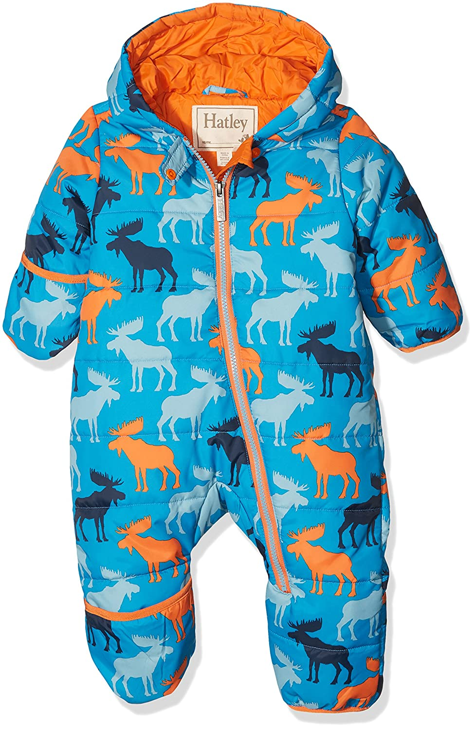 Hatley Baby Boys' Mini Winter Bundler Snowsuit