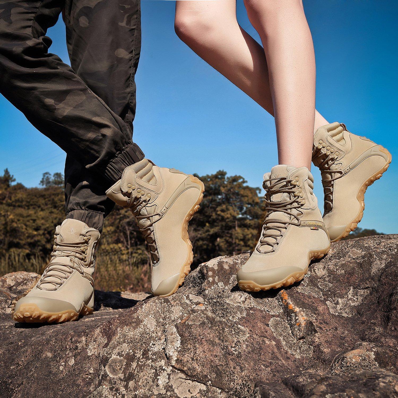 XIANG GUAN neuzugang Herren Damen Outdoor Schuhe Wanderschuhe Wasserabweisende Wanderstiefel Trekkingschuhe Rutschfeste Wanderstiefel Wasserabweisende Winter 86991 1de372