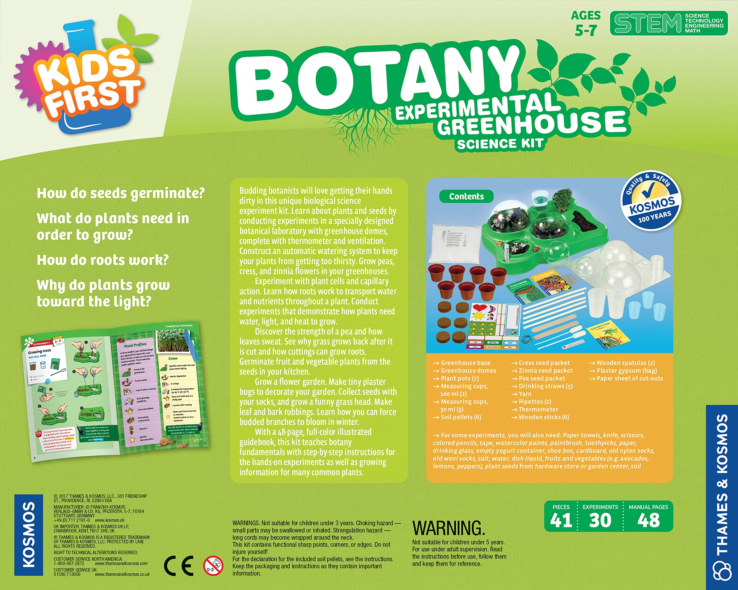 Kids First Botany - Experimental Greenhouse Kit by Kids First (Image #3)